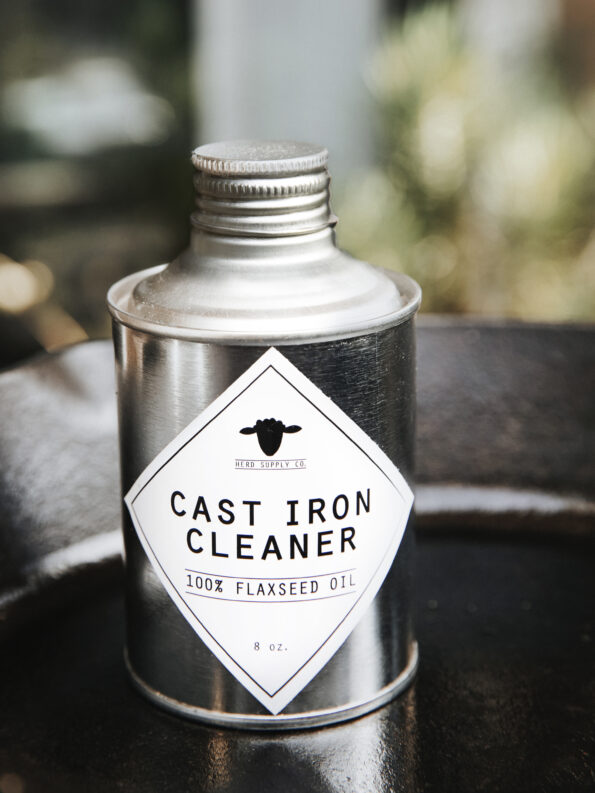 Herd Supply Co Cast Iron Cleaner Photo in Cast Iron Skillet
