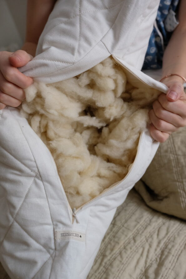 Herd Supply Co – Wool filling for adjustable wool pillow