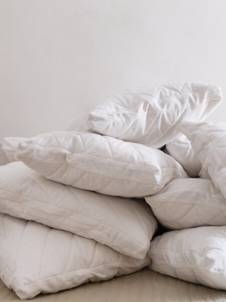 Quilted Pillow Pile
