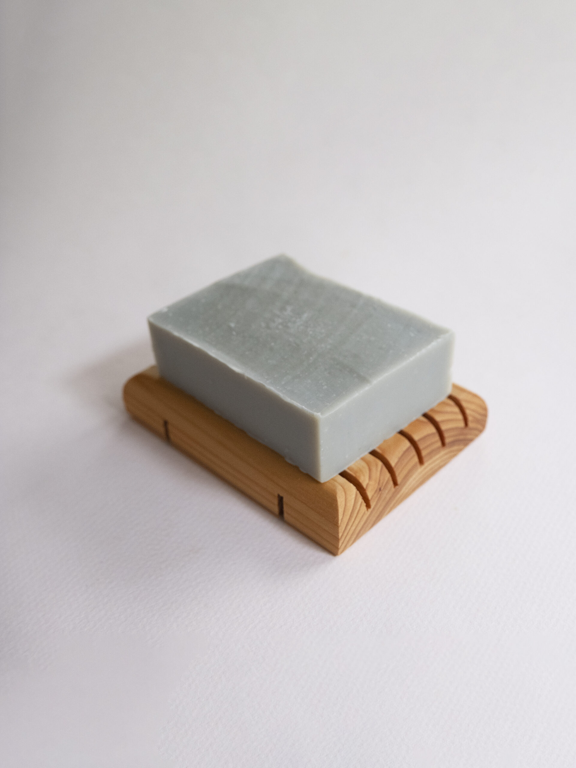 Standard Size Cedar Soap With Soap Size